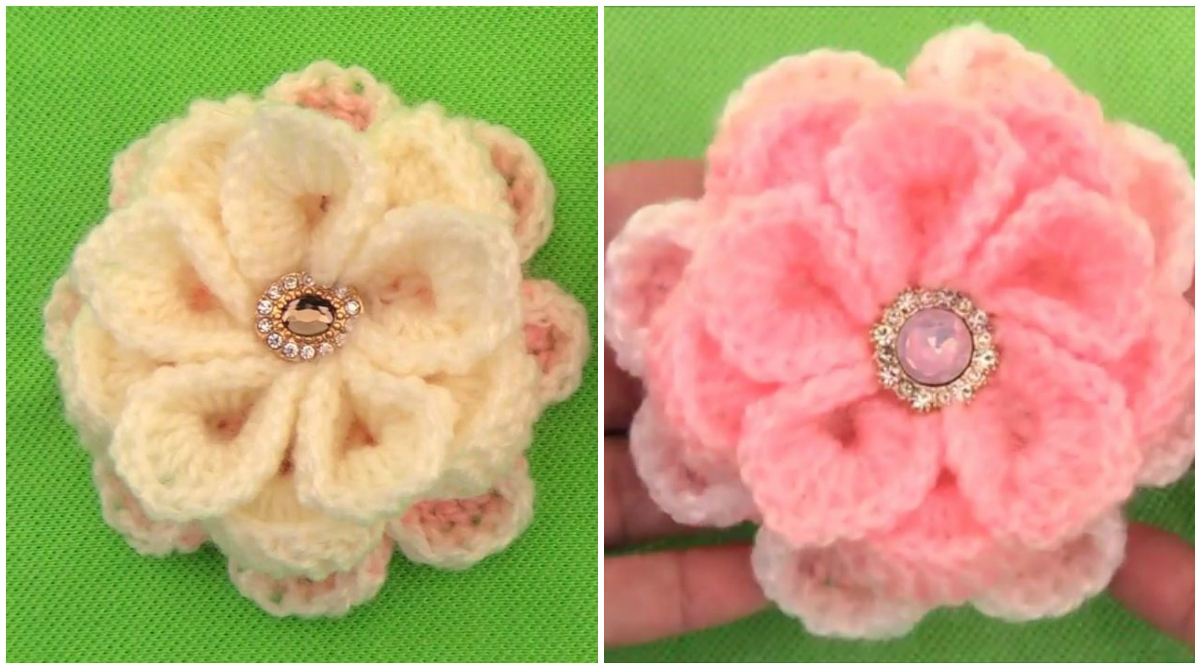 How To Make Beautiful And Easy Flower Crochet Ideas