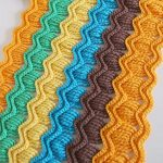 How To Crochet Vintage Fan Ripple Stitch