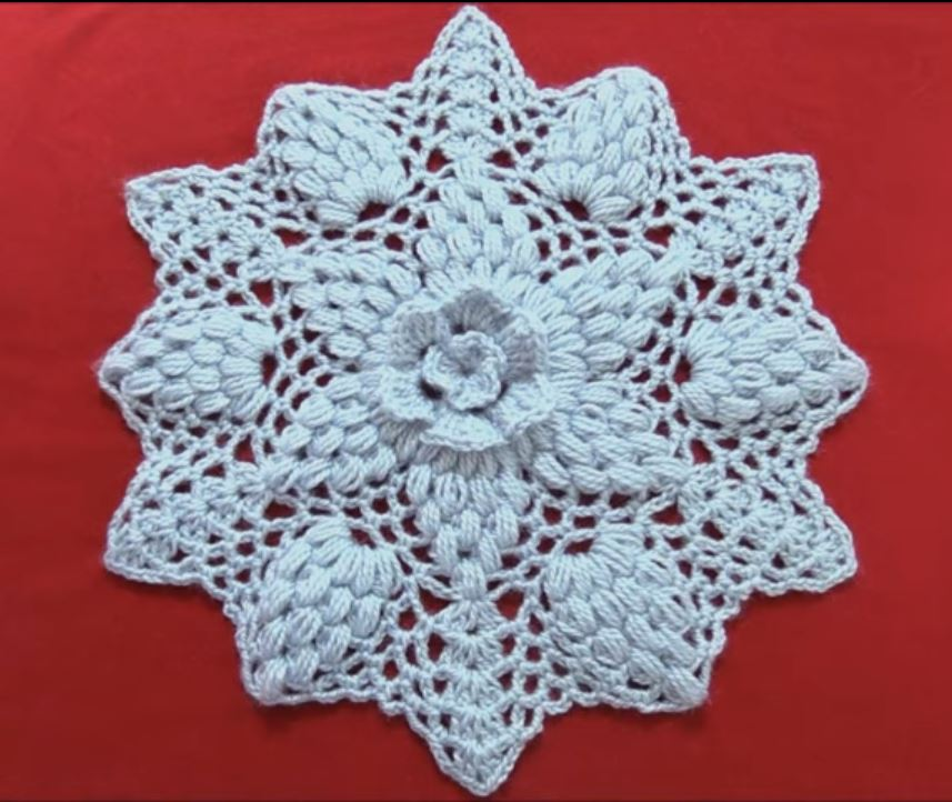 Easy Crochet Doily Video Tutorial Crochet Ideas