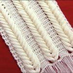 Crochet Trendy Scarf