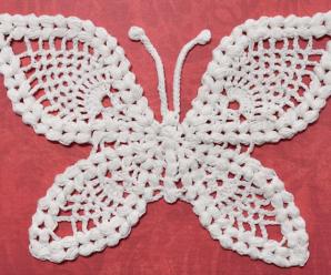 Crochet Adorable Butterflies