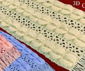 Crochet Stylish Scarf
