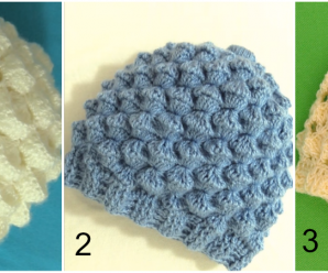 Crochet 3 Stylish Hats
