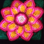 Crochet Amazing Flower Square