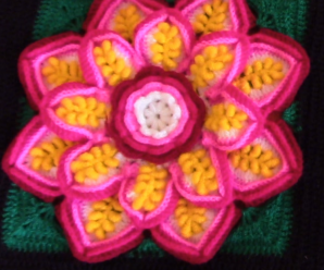 Crochet Amazing Flower Square