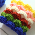 Crochet 3D Marshmallow Stitch
