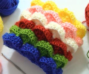 Crochet 3D Marshmallow Stitch