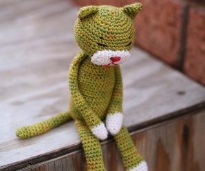 Crochet Amineko Cat