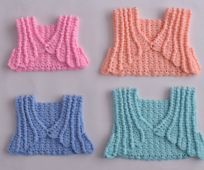 Crochet Baby Bolero