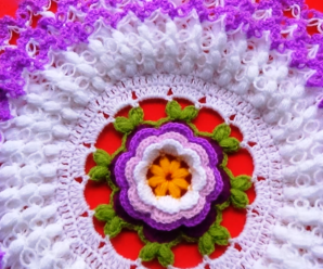 3 Layer Flower Doily