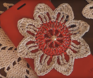 Crochet Easy Flower For Beginners