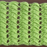 Crochet Cross Stitch Fan Stitch