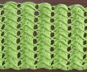 Crochet Cross Stitch Fan Stitch