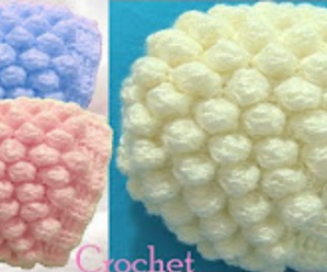 3D Crochet Hat With Balls