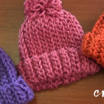 Crochet Elastic Beanie