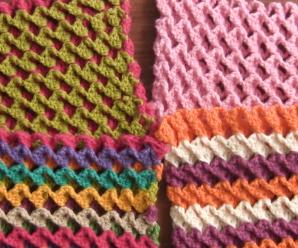 Crochet Reversible 3D Stitch