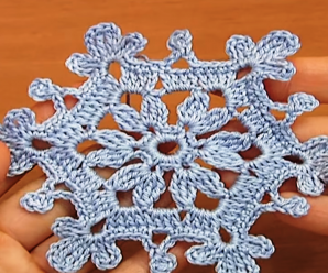 Crochet Very Easy Snowflake