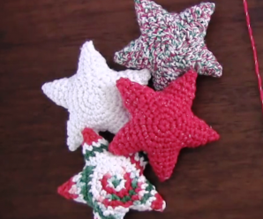 Amigurumi Christmas Stars