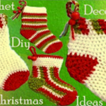 Christmas Gifts – Crochet Socks Decoration