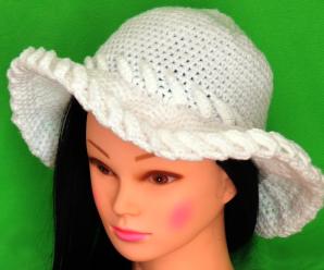 Crochet 3D Sombrero Hat