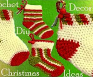 Christmas Gifts – Crochet Socks Decoration