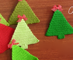 Crochet Tiny Christmas Tree