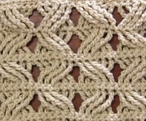 Crochet 2 Layered Cross Stitch