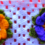 How To Make A Flower Granny Square