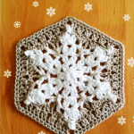 How To Make A Snowflake Granny