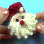 How To Crochet Santa Claus