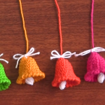Mini Crochet Bells Tutorial