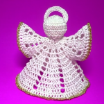 How To Crochet Christmas Angel