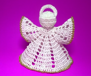 How To Crochet Christmas Angel