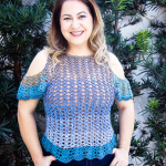 Crochet Attractive Blouse Video Tutorial