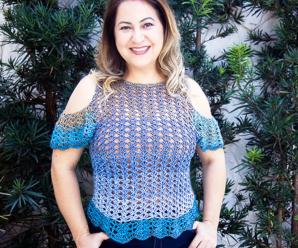 Crochet Attractive Blouse Video Tutorial
