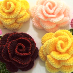 Easy And Fast Crochet Flower