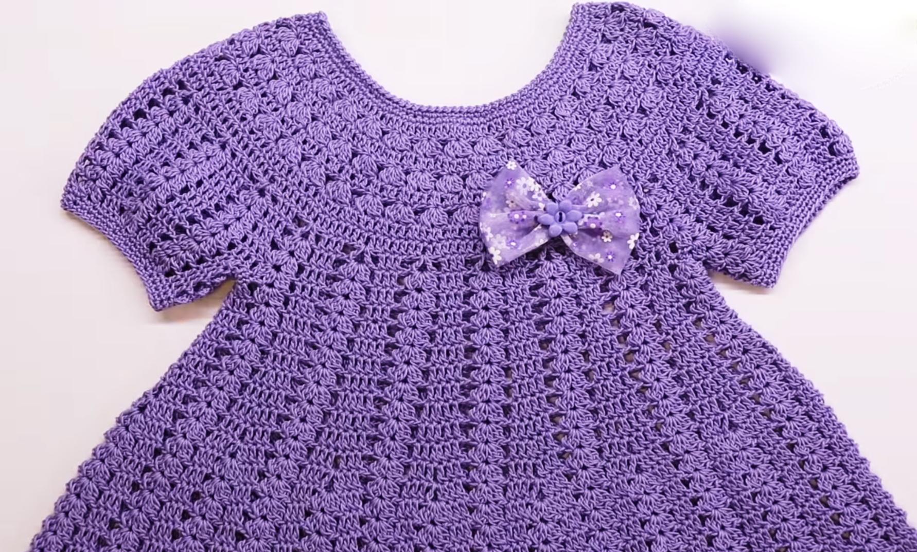 Crochet Dress For Baby Girl Crochet Ideas