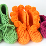 Crochet Cozy Slippers in 3 Sizes