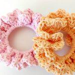 DIY Crochet Donuts For Hair