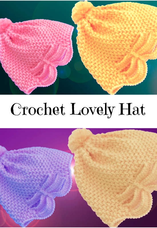 crochet lovely hat