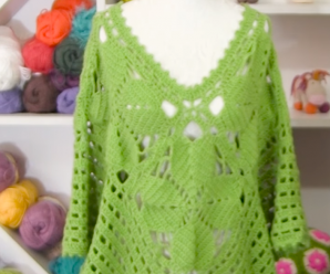How To Crochet Stylish And Comfortable Poncho