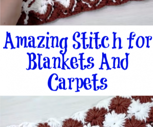 Amazing Stitch for Blankets And Carpets