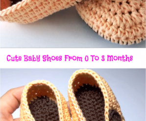 Cute Baby Shoes From 0 To 3 Months