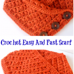 Crochet Easy And Fast Scarf
