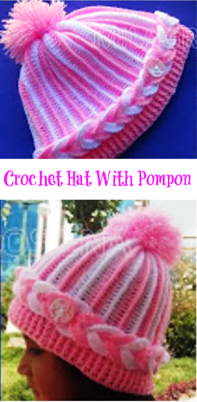 hat with pompon