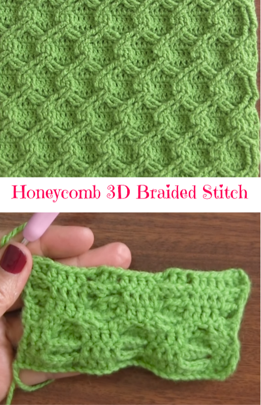 honeycomb braided stitch