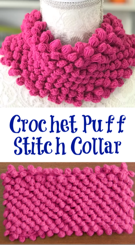 puff stitch collar