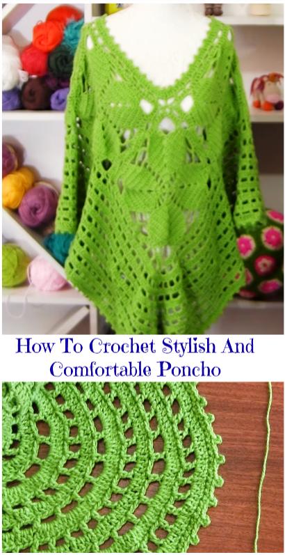 stylish and comfy poncho