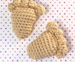Little Baby Footprint Amigurumi