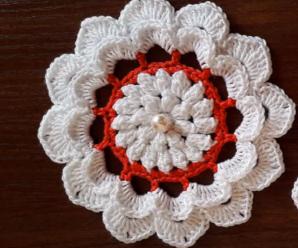 Crochet Very Easy Flower Tutorial
